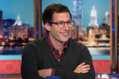 Andy Samberg stops by NOW