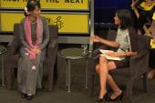 Aung Sang Suu Kyi: 'Always embrace peace'