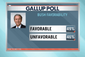 George W. Bush's popularity rises