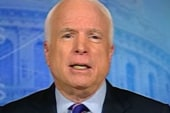 McCain continues to 'beat the drum' on...