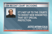 Justice Scalia continues campaign against...