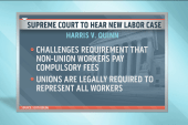 Case could spell the end of organized labor