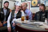What NOW?!: Biden's biker brush