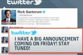 What NOW?!: Cain turns to radio, Santorum...
