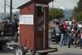 What NOW?!: 'Obama Outhouse' conjures...