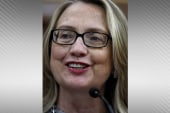 Hillary Clinton goes 'au naturale'
