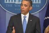 'Not a march to war': Obama hoping for...