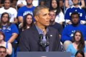 Obama heads on college tour
