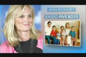 Ann Romney stirs debate on motherhood