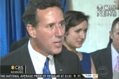 Attack of the conservatives: Santorum...