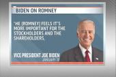 Biden attacks Romney
