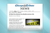 18 people shot in Chicago in less than...