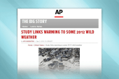 Cold weather brings climate change deniers
