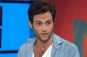 'Gossip' star Badgley plays doomed rocker...