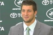 NY Jets welcome Tim Tebow