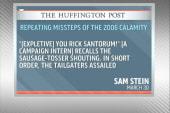 Santorum's 2006 flying sausage food fight