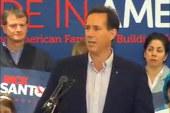 Has Santorum gone too far?