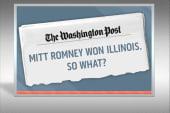 Romney wins Illinois, picks up Jeb Bush...