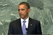 Obama: 'Peace is hard, progress can be...