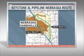 Keystone company proposes new pipeline route