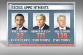 Recess appointment battles for Obama