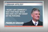 Rev. Franklin Graham apologizes for...