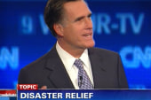 Romney's 2011 remarks about cutting FEMA...