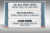 Romney rakes in three wins