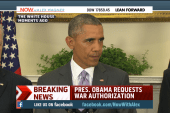 Obama seeks war powers from Congress