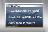 A lift on cell phone bans on airplanes?