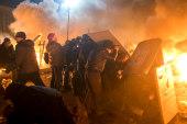 Ukrainian president reportedly flees
