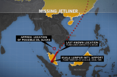 Did missing jet turn back before vanishing?