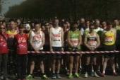 Show of solidarity at London Marathon