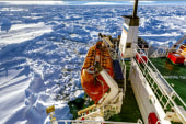 Russian ship still trapped in ice