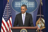 President Obama warns 'there will be costs'
