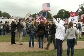 Protesters gather at National Mall