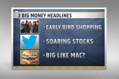 Early shoppers, Twitter IPO and the Big Mac