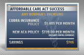 ACA saves woman from huge premium