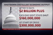Shutdown costs continue to rise