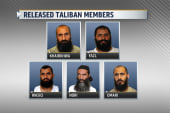 Who are the 5 released Taliban members?
