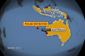 Report: Chinese ship detected pulse signal