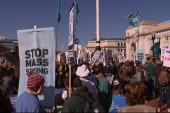 Protestors march to end NSA surveillance