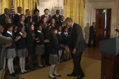Meet the 14-year-old who introduced Obama