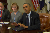 Obama talks with health care insurers