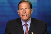 Blumenthal hopeful background check...