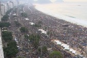 Millions come out in Brazil to hear Pope's...
