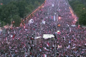 Protests grow near Egypt's presidential...