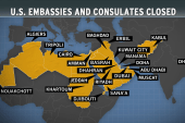 22 US embassies and consulates closed...