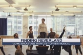 Going backstage with Finding Neverland