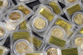 California couple unearths gold rush coins